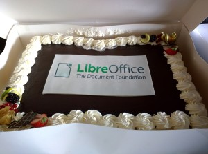 Happy Birthday at the LibreOffice Conference