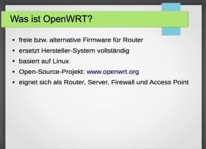 Was ist OpenWRT?