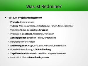 Was ist Redmine?