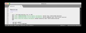 Sublime Text mit installierten RST-Erweiterungen