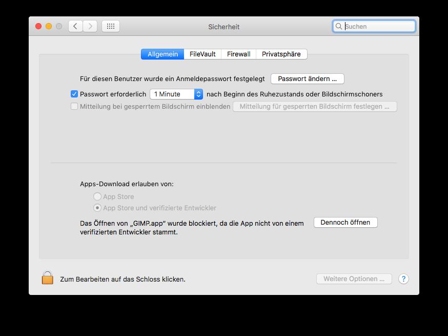 Unsignierte Software unter macOS Sierra nutzen - Florian Effenberger