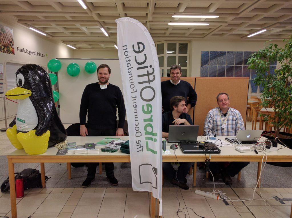 LibreOffice-Stand am LinuxDay Vorarlberg 2016