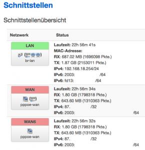 OpenWRT mit IPv6