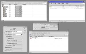 Die grafische Konfiguration von RouterOS