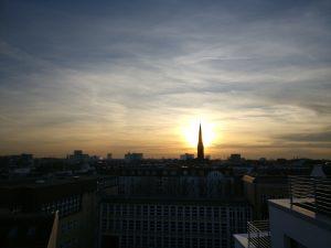 Ein wunderbarer Sonnenuntergang durfte nicht fehlen ;-)